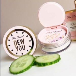 TOO FACED Dew You Fresh Glow Setting Powder⭐️NWT⭐️